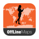Saint Kitts and Nevis Offline Map